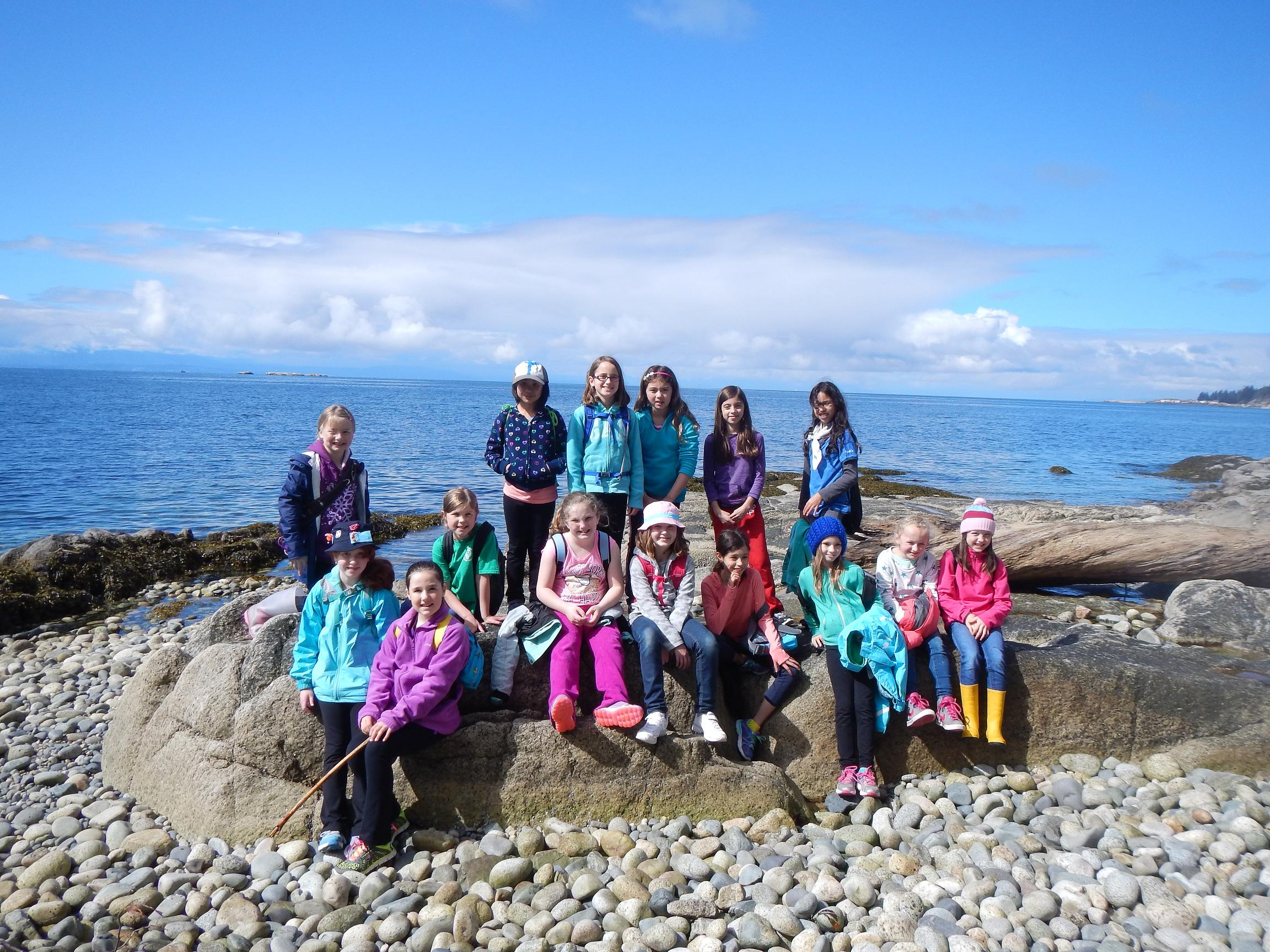 Seymour Guides at Camp Olave